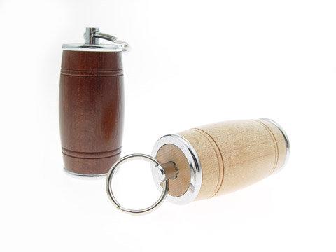 原木材质usb酒桶造型造型随身碟