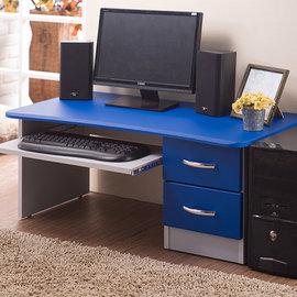 ~悠室屋~新和室電腦桌 天空藍 二門抽屜 可置鍵盤 便利桌 傢俱