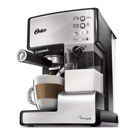 ◤贈原廠奶泡盒◢◤特A級福利品‧數量有限◢ 美國 OSTER 奶泡大師義式咖啡機 -乳白色 BVSTEM6601