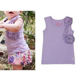 ~Love BBB~ RuffleButts 甜美螺旋荷葉邊背心~薰衣草紫