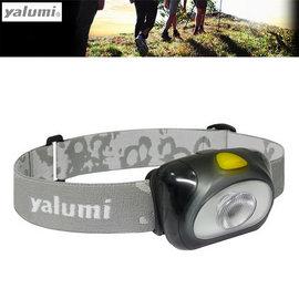 【Yalumi】台灣製 SPARK 防水高亮度LED頭燈(105流明/僅38g).加贈1.5V電池*3/露營燈.手電筒.登山.探索,釣魚溯溪(非petzl)/黑