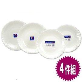 法國《樂美雅》純白4件餐盤組* 2組  SP-1203  **免運費**