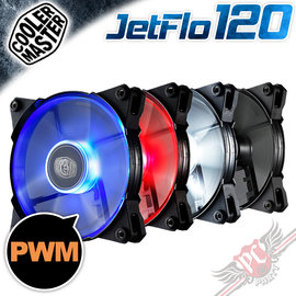 PC PARTY   CoolerMaster JetFlo 120 12cm 白光