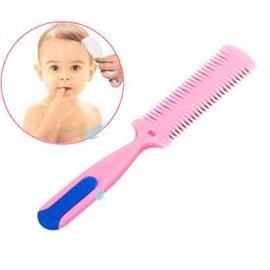 日本兒童安全削髮器/瀏海修剪器~疏 密2頭設計!