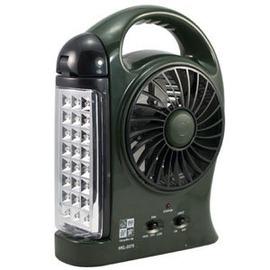 探險家戶外用品㊣HKL-2375妙管家充電式LED風扇照明燈 (野外露營/夜釣/夜遊/施工/陪考/烤肉