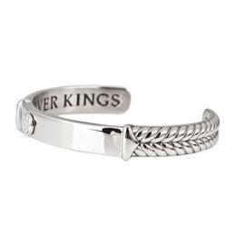 ~奇美珠寶~~ 原生飾代 SilverKings~~ 幸福枷鎖 ~珠寶白鋼男款手鍊 手環