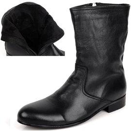 beau garcon A W 紳士摩登雅痞皮靴  A012  ~黑色