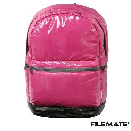 ~SALE~FileMate 防水16吋 筆電空氣後背包~甜心桃
