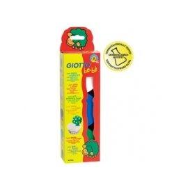 【紫貝殼】 『GIOTTO18』【義大利 GIOTTO】BEBE寶寶超軟黏土(基本色) 白藍綠【店面經營/可預約看貨】