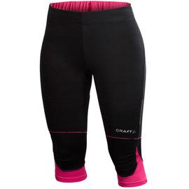 桃源戶外 Craft Performance Run 女競跑吸濕排汗七分褲 黑桃紅 190