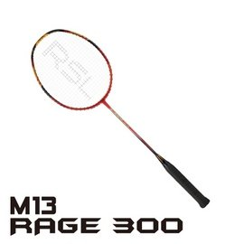 RSL羽球拍_M13_Rage 300(附單支拍套)~火紅最亮眼