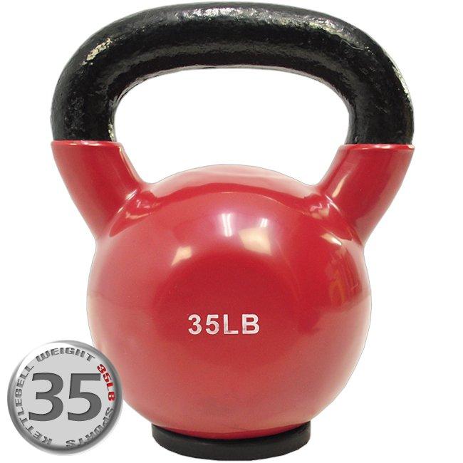 KettleBell包膠35磅壺鈴(橡膠底座) C113-2035 (浸膠35LB拉環啞鈴.搖擺鈴.舉重量訓練.運動健身器材.推薦)