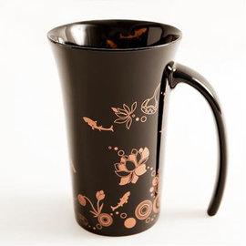 鶯歌集瓷│~夏荷剪影喇叭杯 Silhouette of Lotus~單杯~亮面~隨附送禮精