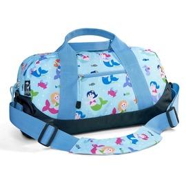 ~Love BBB~美國 Wildkin 25081 小美人魚 兒童水手旅行袋 行李袋 斜