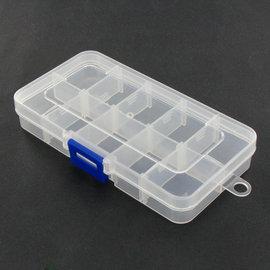 工具盒 螺絲盒 收納盒 盒 零件盒 可拆卸 透明PP 5463~1