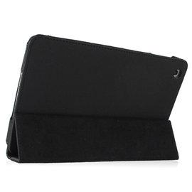 高 三折式側翻支架皮套 iPad mini 平板電腦保護套 黑色4314~9~Emma G