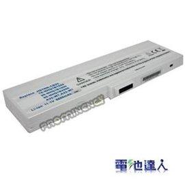 電池 Asus W7 M9長效電池^(9cells 6600mAh 白^)