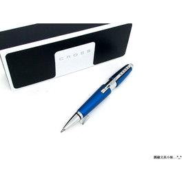 ~圓融文具小妹~CROSS 高仕 慶祝 建國 100 年  科技藍 鋼珠筆 伸縮筆 AT0