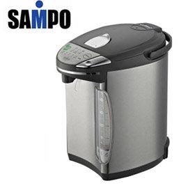 ★福利品出清★ SAMPO 聲寶 4.8L光控節能電熱水瓶 KP-PG48W /KPPG48W **免運費**