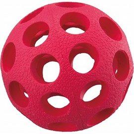 Ω米克斯Ω~美國JW Hol~ee Bowler 軟Q迷你橡膠洞洞球抗憂鬱玩具~狗益智玩具