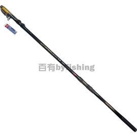 ◎百有釣具◎台灣製造 SUPER STRIKE HDC 黑襲 頂級磯投竿4號530