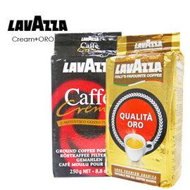 義大利~LAVAZZA~Caffe Crema  QUALITA ORO  250g^~2