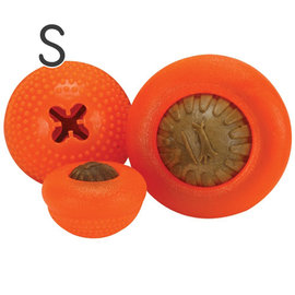 美國STARMARK星記 Everlasting Bento Ball 橘色半球磨牙球抗憂