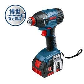 BOSCH 鋰電衝擊起子/扳手機 GDX 18V-LI★新品上市 大電池包裝★起子、套筒扳手一機兩用