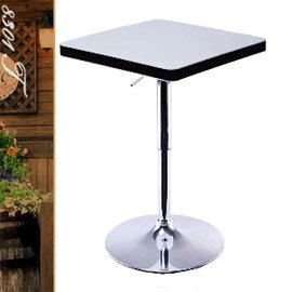 簡約大方氣壓棒伸縮吧台桌 P020-8301T (方型茶几.置物桌.洽談桌.餐桌子.休閒桌.客廳桌.傢俱家具傢具特賣會)
