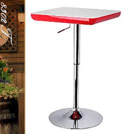 簡約俐落氣壓棒伸縮吧台桌 P020-8302T (方型茶几.置物桌.洽談桌.餐桌子.休閒桌.客廳桌.傢俱家具傢具特賣會)