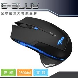 ~ 前三大電競品牌~E~Blue 魅影狂蛇 無線電競滑鼠^~遊戲 EMS~152