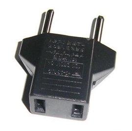 台灣扁頭轉歐洲圓頭 換插頭/轉換頭 (適用歐洲插座) [MPO-00004]