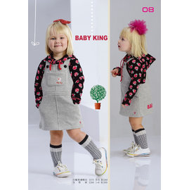 babyking 2275蘋果連帽T100CM~150CM