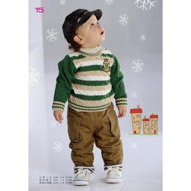 babyking 2232舖棉反摺褲80CM~120CM