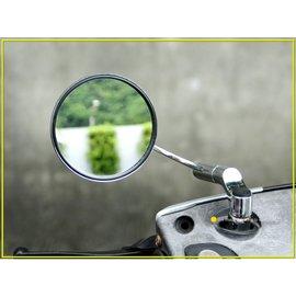 ~後照鏡2入~ 機車後視鏡~電鍍後視鏡_ 2入_左右各1支_正牙_M8_8mm_機車後照鏡