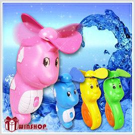 【Q禮品】A1687海馬蝸牛水風扇/攜式型噴霧風扇/風扇/降溫風扇/冰涼風扇/風扇噴霧器