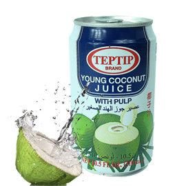 ~蘋果市集~TEP TIP椰子汁310ml^~48入