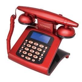 雙制式來電顯示❣ WONDER旺德 仿古來電顯示電話機 WT~05❣記憶來電❣撥出號碼