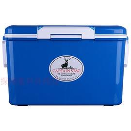 探險家戶外用品㊣M-8159 CAPTAIN STAG 日本鹿牌鹿王保冷冰箱冰筒35公升(藍色)日本製 冰桶