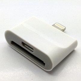 (lightning) micro usb / iphone4 轉iphone5 iphone6 轉接頭/轉後頭/轉接器 (二合一) [AIF-00003]
