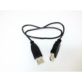 [粗款-純銅] USB公對USB母 公轉母  數據線/延長線/傳輸線 (50CM) [DUO-01-00003]