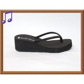 ~.╮ViVi Love真愛ViVi女鞋╭.~MIT 製名媛雜誌款^~舒適軟底搶眼水鑽厚底