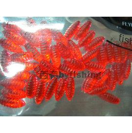 ◎百有釣具◎進口品牌FLYING-EAGLE 魚蟲軟蟲 1.2cm