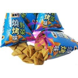 ^(馬來西亞^) 厚毅我最牛牛角酥餅乾(野菜燒烤牛角酥)金牛角餅乾 純素 600公克 11