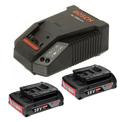 适合所有博世专业18v充电式工具 2.0ah最新的高容量锂电电池