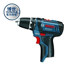 BOSCH 10.8V鋰電池起子機 GSR10.8V-2-Li(單機)★機身短小★高低兩速變速齒輪箱
