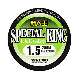 ◎百有釣具◎太平洋POKEE 新人王 SPECIAL KING 250M 尼龍透明材質釣線 ~ 線質平滑性好穩定性佳,適合各類釣場使用