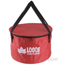 探險家戶外用品㊣NO.81062217B 日本品牌LOGOS 荷蘭鍋袋 10吋 荷蘭鍋收納袋/鍋具餐具裝備袋