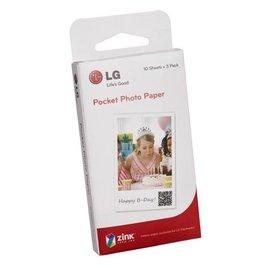 LG Pocket Photo Paper 專用相片紙 口袋相印機 PS2203 適用 PD221 / PD233