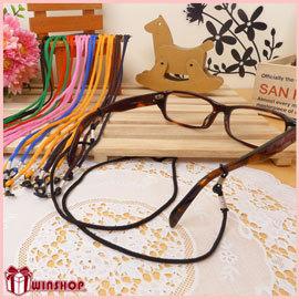 【Q禮品】A1729 多彩眼鏡繩/眼鏡帶 眼鏡吊繩 眼鏡掛繩 運動眼鏡繩 安全眼鏡繩 眼鏡掛帶 彩色眼鏡繩